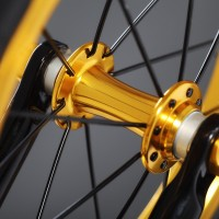 Ultra narrow hub design